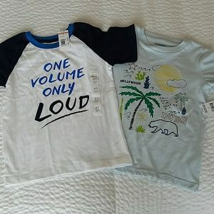 2 for 1 - NWT Boys Size 4T Shirts